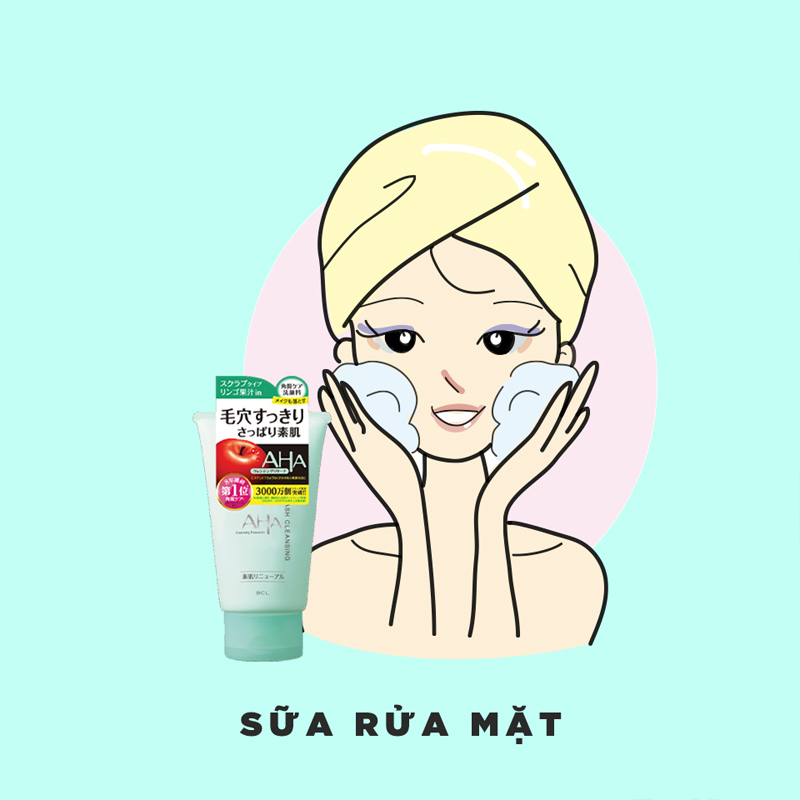 Sữa Rửa Mặt Cleansing Research Chiết Xuất AHA Wash Cleansing