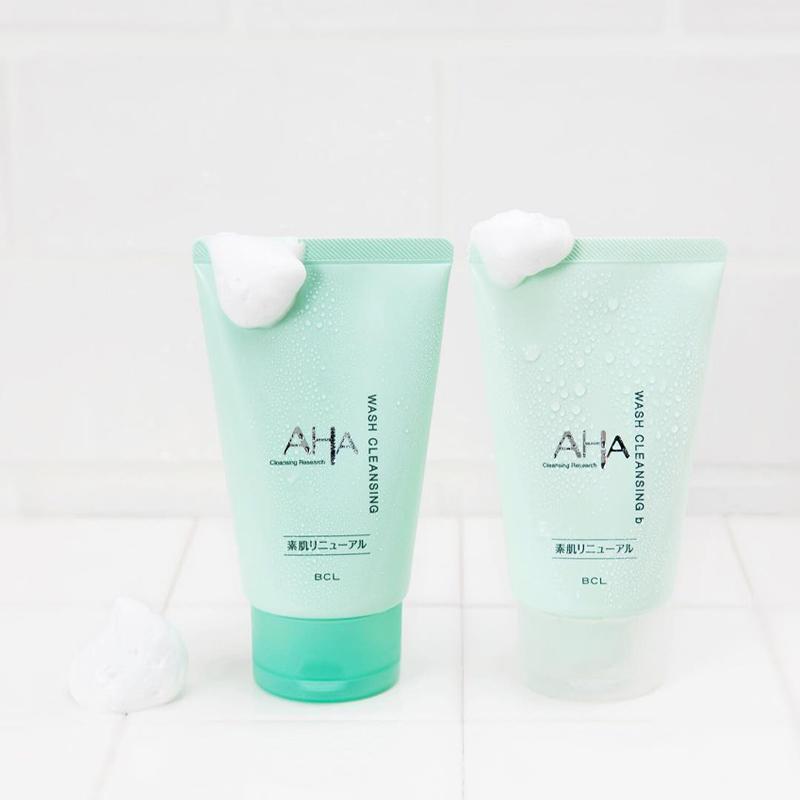 Sữa Rửa Mặt Cleansing Research Chiết Xuất AHA (Không Hạt) Wash Cleansing B 30g