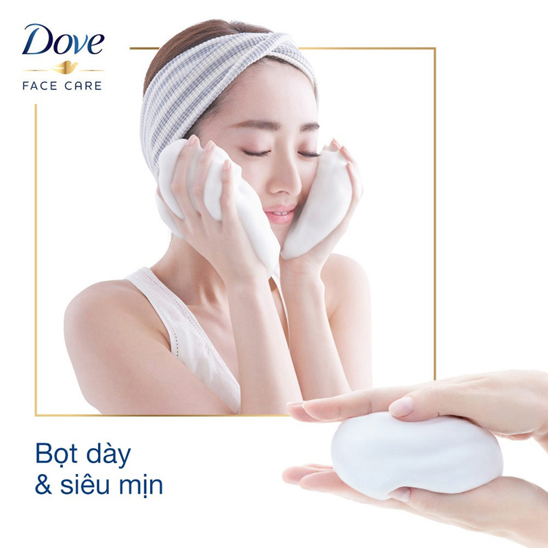Sữa Rửa Mặt Dove Tinh Chất Cấp Ẩm & Cho Da Mềm Mượt Beauty Serum Facial Cleansing Foam For Soft, Smooth And Moisturized Skin