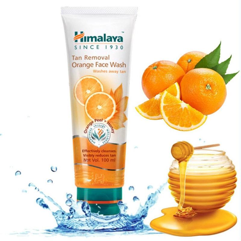 Sữa Rửa Mặt Hymalaya Herbals Tan Removal Orange Face Wash 100ml
