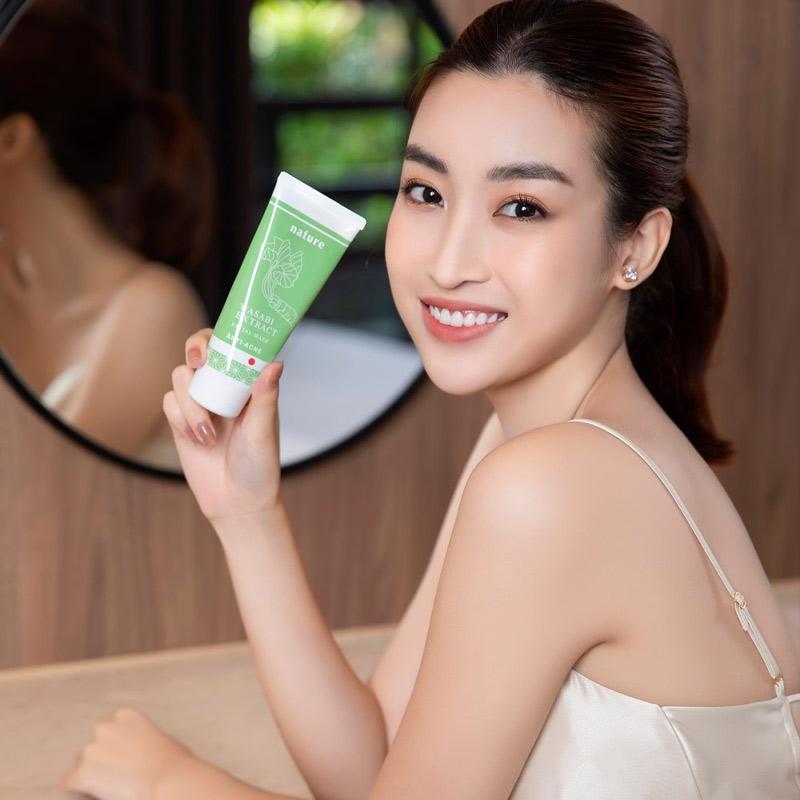 Sữa Rửa Mặt Naris Cosmetics Nature Wasabi Extract Facial Wash 100g Hasaki