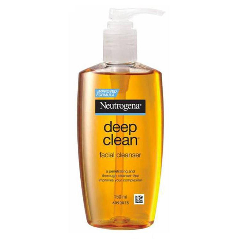 Sữa Rửa Mặt Neutrogena Làm Sạch Sâu Dạng Gel Facial Cleanser Deep Clean 150ml