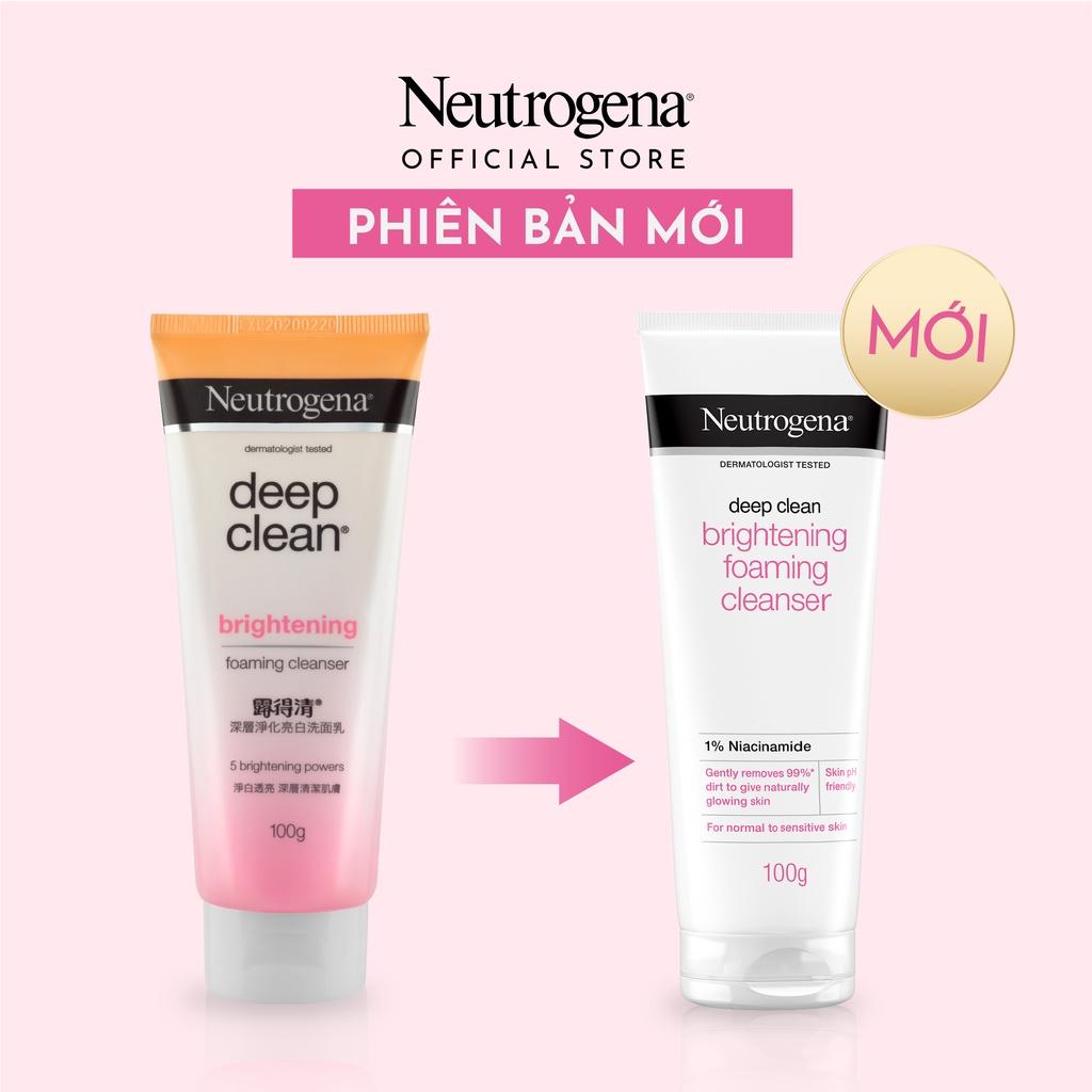 Neutrogena Brightening Foaming Cleanser