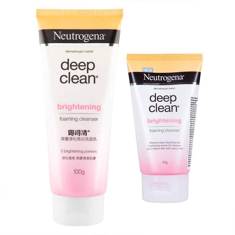 Neutrogena Brightening Foaming Cleanser
