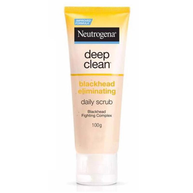 Sữa Rửa Mặt Neutrogena Ngăn Ngừa Mụn Đầu Đen Blackhead Eliminating Scrub 100g