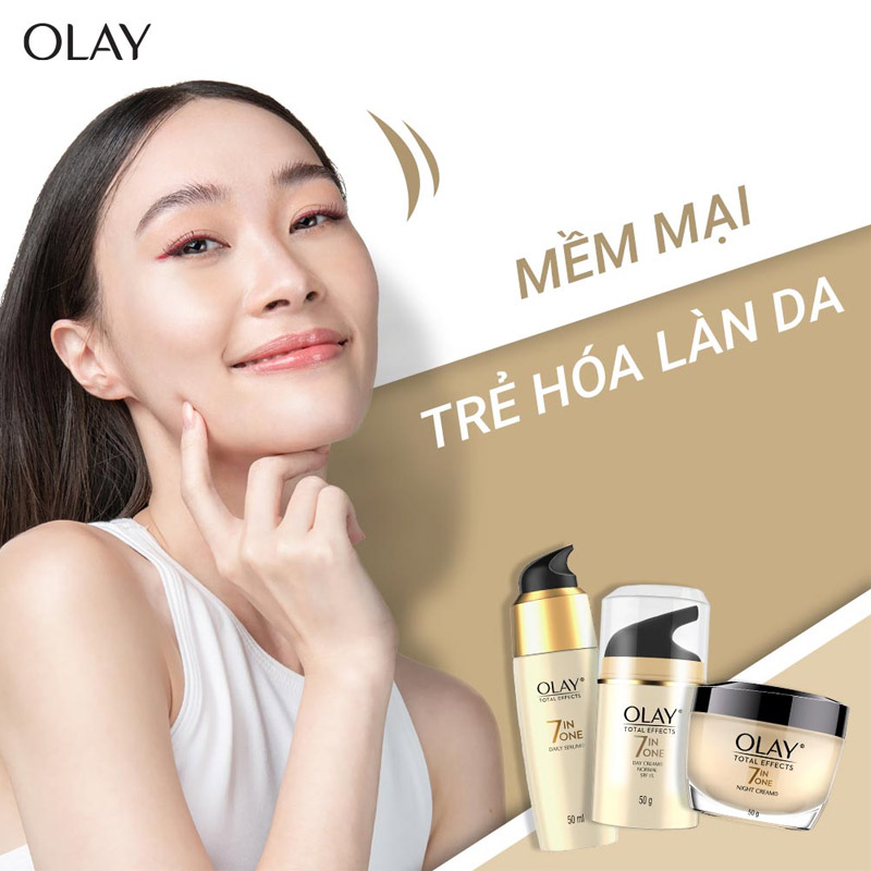 Sữa Rửa Mặt Olay Total Effects 7 In 1 Foaming Cleanser 100g
