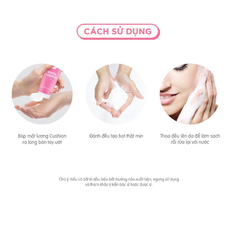 Sữa Rửa Mặt Tạo Bọt Cathy Doll Sáng Da White Cushion Facial Foam Cleanser có tốt không