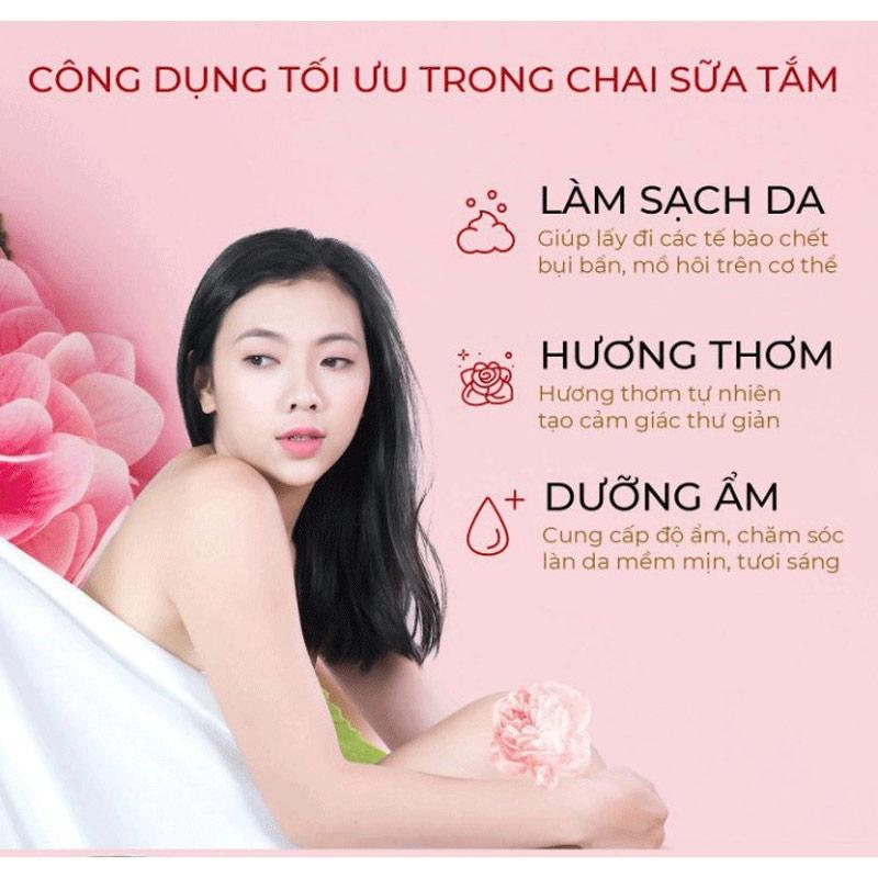 Công dụng Sữa Tắm Avatar Tinh Chất Thiên Nhiên 500ml