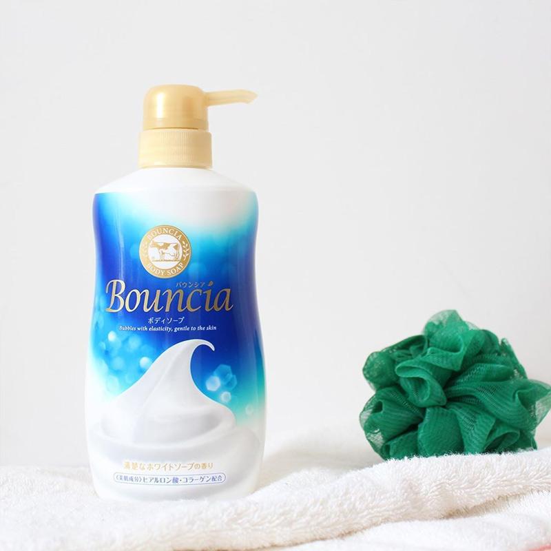 Sữa Tắm Bouncia Tinh Chất Sữa Hương Tươi Mát Body Soap White Soap Scent With Pump 500ml
