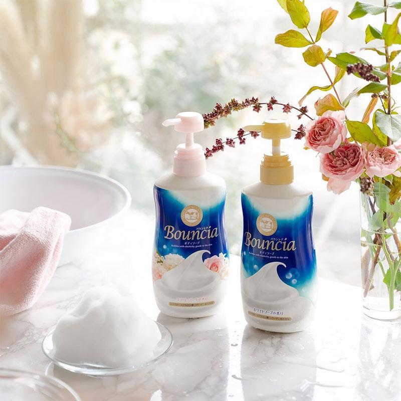 Sữa Tắm Bouncia Tinh Chất Sữa Body Soap With Pump 500ml