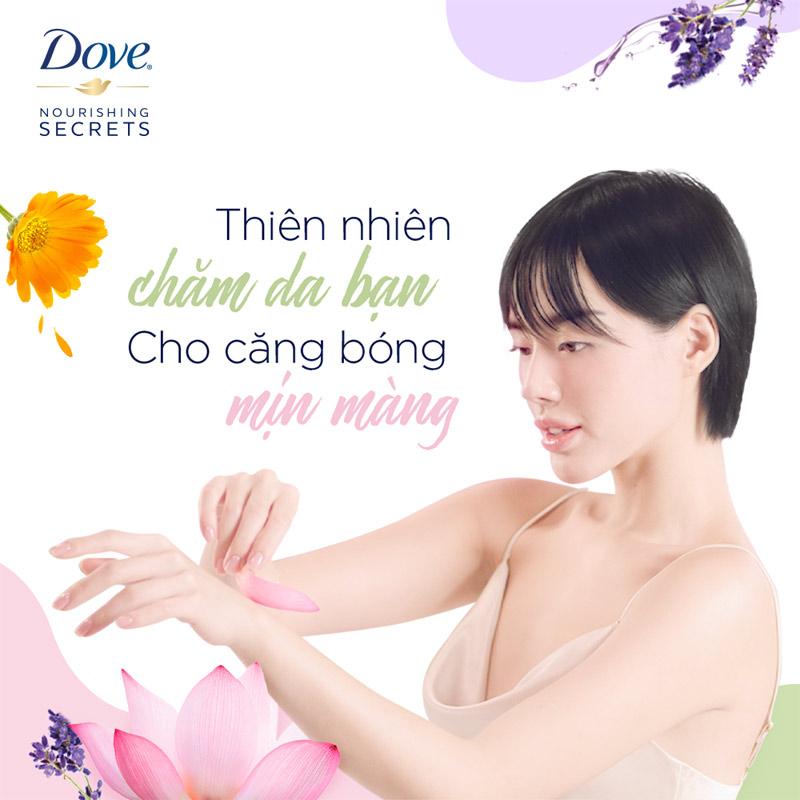 Sữa Tắm Dove Dưỡng Thể Căng Bóng 530g