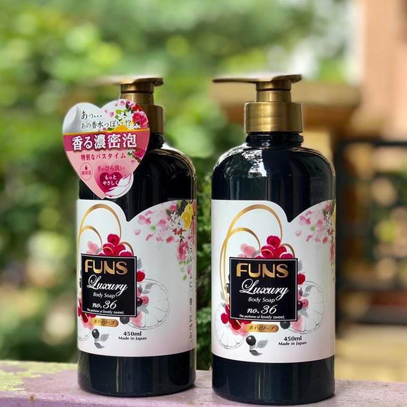 Sữa Tắm Funs Luxury No.36 Hương Nước Hoa Body Soap No.36 - The Perfume of Lovely Sweet 450ml