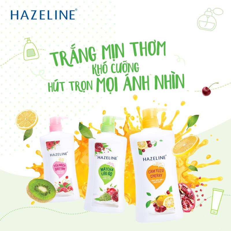Sữa Tắm Hazeline Rạng Ngời Thuần Khiết 670g