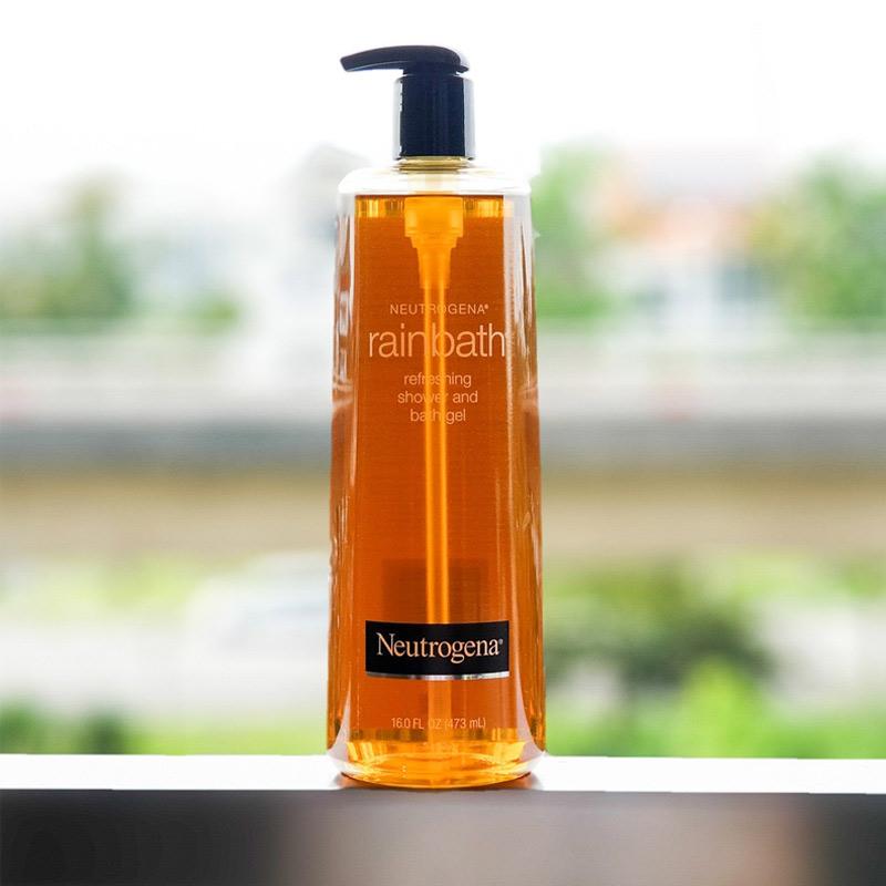 Sữa Tắm Neutrogena Dưỡng Ẩm & Tươi Mới Dạng Gel Rainbath Original Shower And Bath Gel 473ml