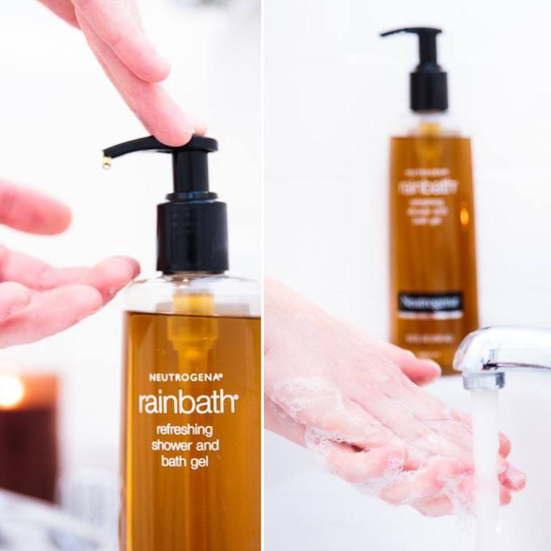 Sữa Tắm Neutrogena Dưỡng Ẩm & Tươi Mới Dạng Gel Rainbath Original Shower And Bath Gel