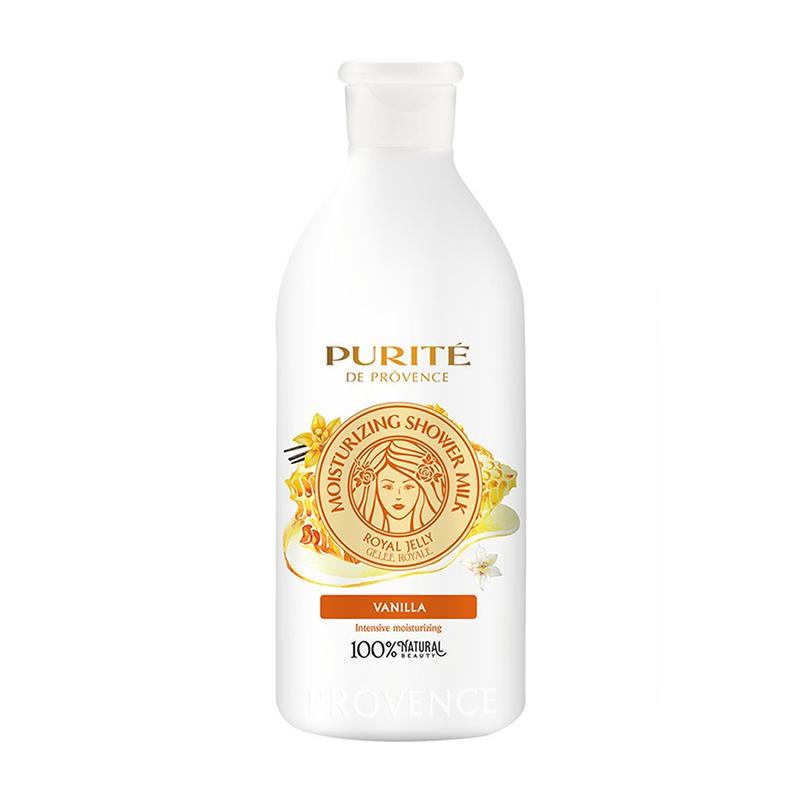 Sữa Tắm Purité Dưỡng Ẩm Sữa Ong Chúa & Vanilla 500ml
