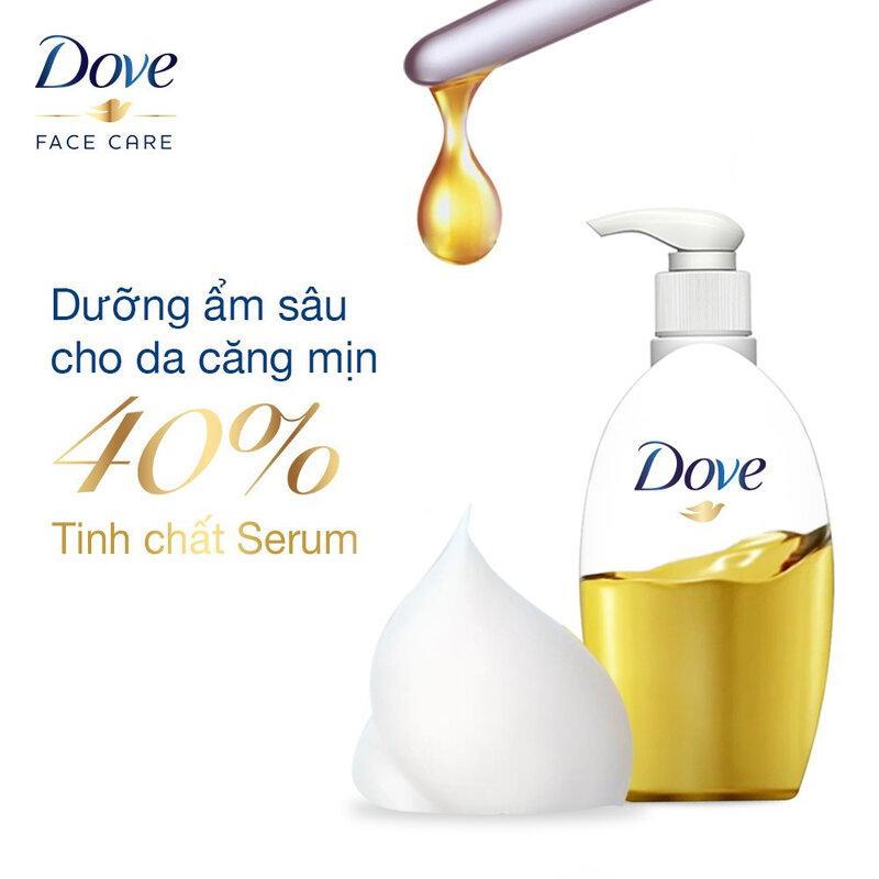 Dove Beauty Serum Makeup Removal Milk For Long-Wear Makeup 195ml