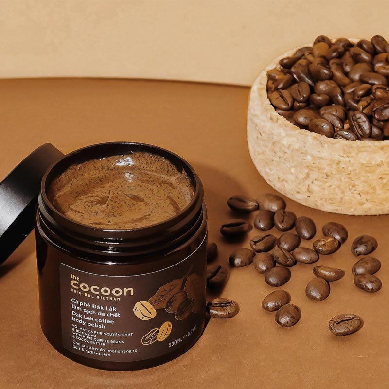 Cà Phê Đắk Lắk Tẩy Da Chết Toàn Thân Cocoon Dak Lak Coffee Body Polish