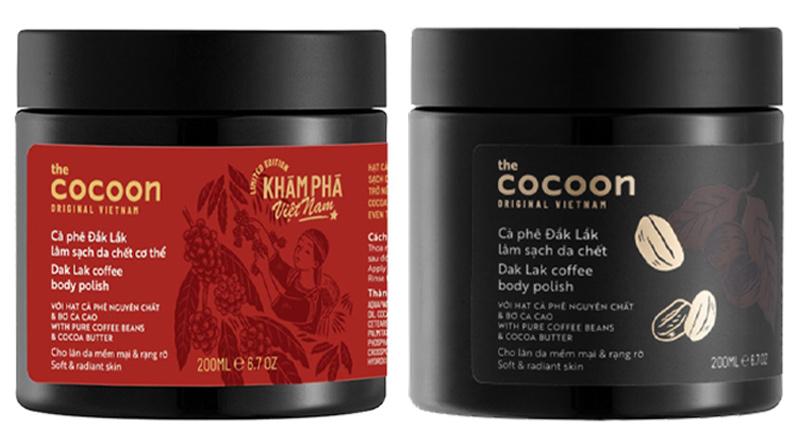 Cà Phê Đắk Lắk Tẩy Da Chết Toàn Thân Cocoon Dak Lak Coffee Body Polish 200ml