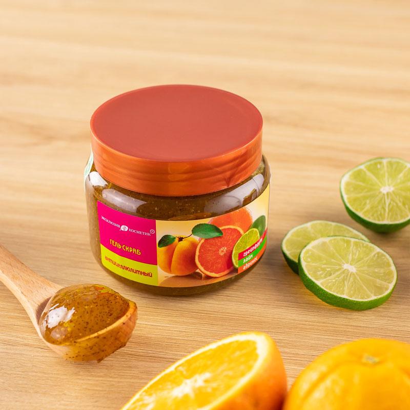 Tẩy Da Chết Toàn Thân Eksklyuziv Kosmetik Chiết Xuất Chanh Đào Gel Scrub Grapefruit Lime Apricot 380g