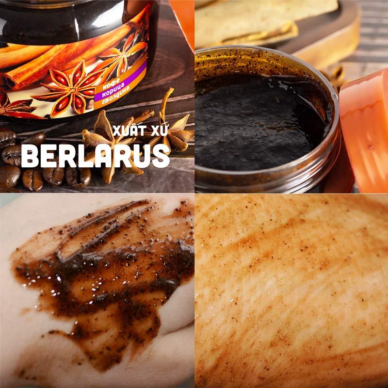 Tẩy Da Chết Toàn Thân Eksklyuziv Kosmetik Chiết Xuất Quế Hồi Và Café Gel Scrub Coffee Cinanmon Cloves
