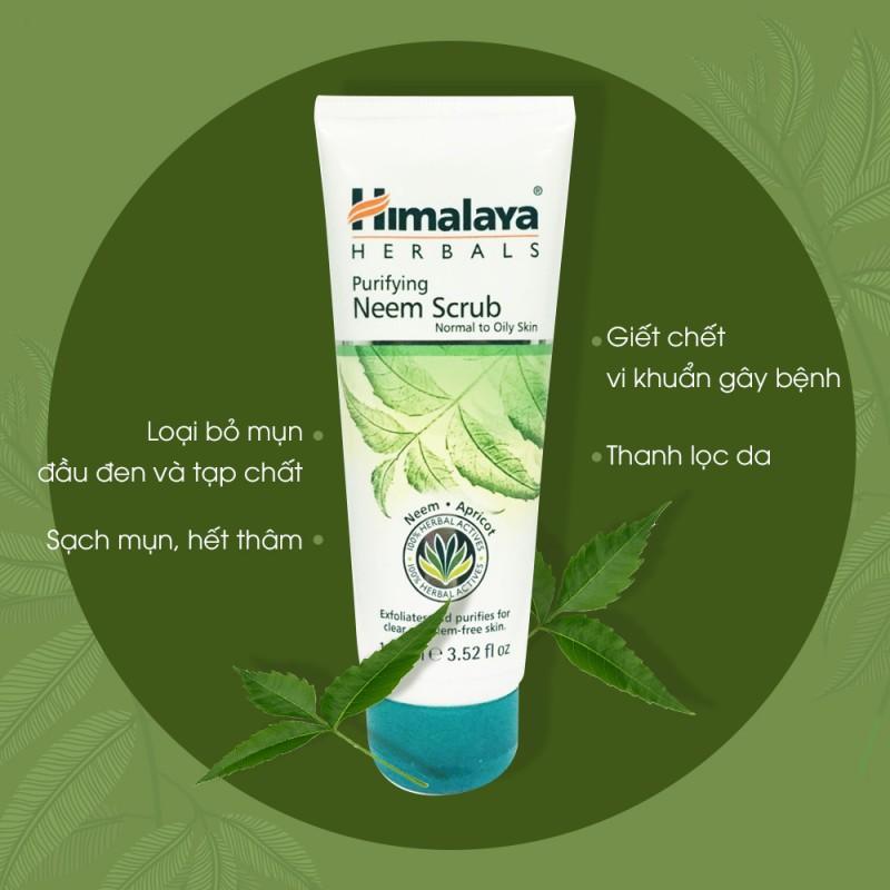 Tẩy Tế Bào Chết Himalaya Herbals Lá Neem Làm Sạch Da 100ml