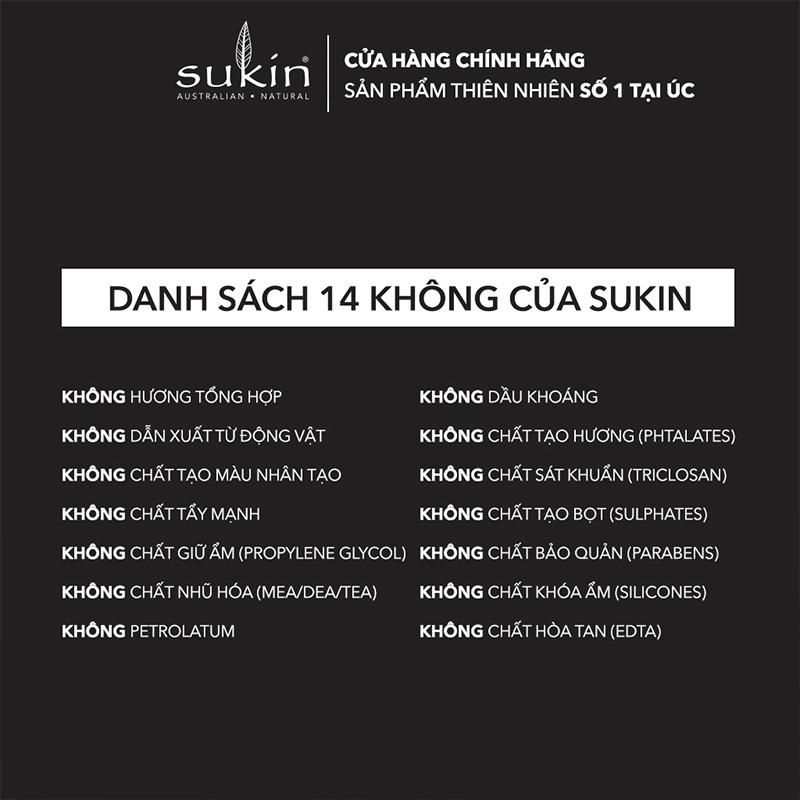 Độ an toàn Tẩy Tế Bào Chết Sukin Cho Nam Dạng Kem Sạch Dầu Thừa For Men Facial Scrub 125ml