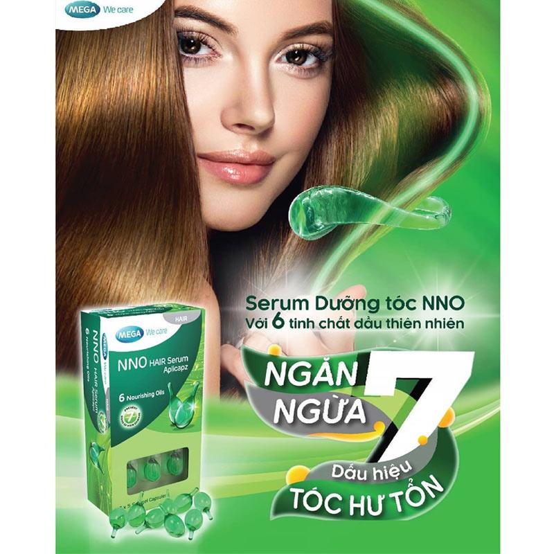Tinh Chất Dưỡng Tóc Mega We Care NNO Serum Hair (Hộp 15 Viên)