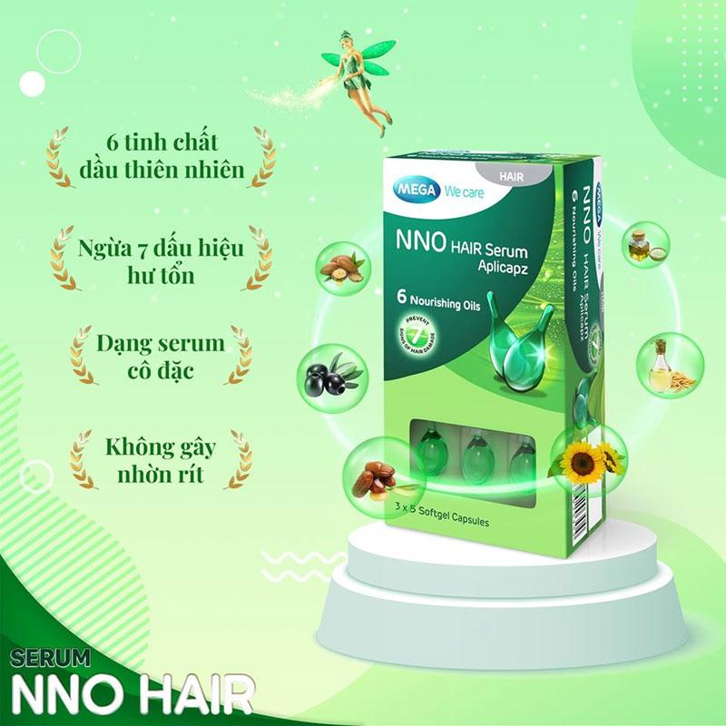 Mega We Care NNO Serum Hair (Hộp 15 Viên)