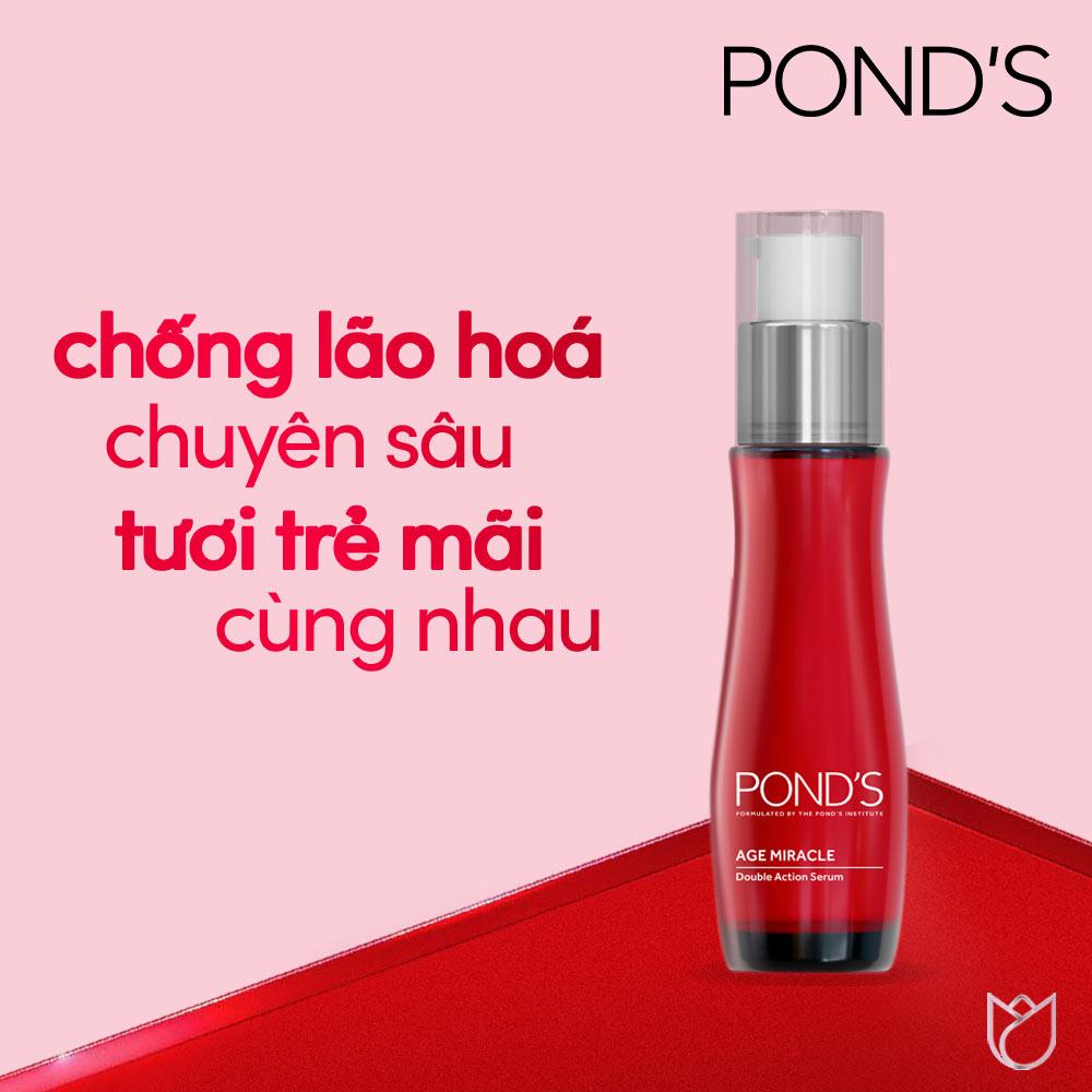 Tinh Chất Pond's Age Miracle Ngăn Ngừa Lão Hóa 30ml Hasaki