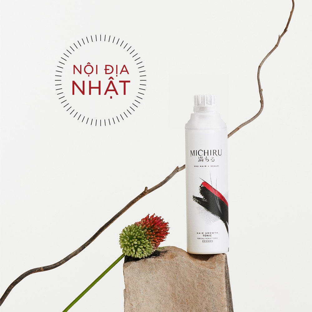 Tinh Chất Tonic Michiru Hair Growth Tonic For All Scalp Types 130g