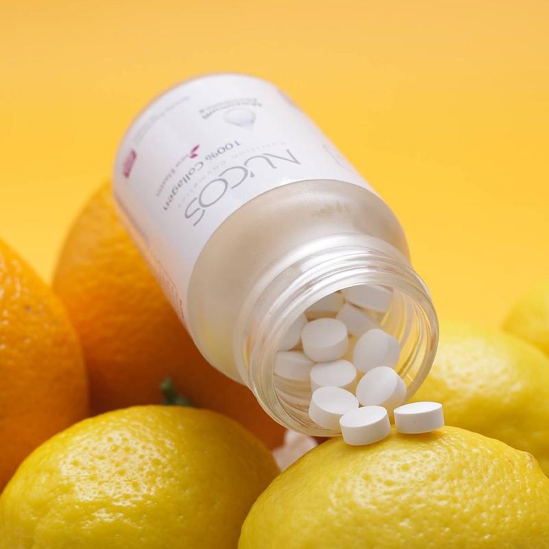 Viên Uống NUCOS Chống Nắng, Làm Sáng Da, Giảm Nám White Plus Placenta