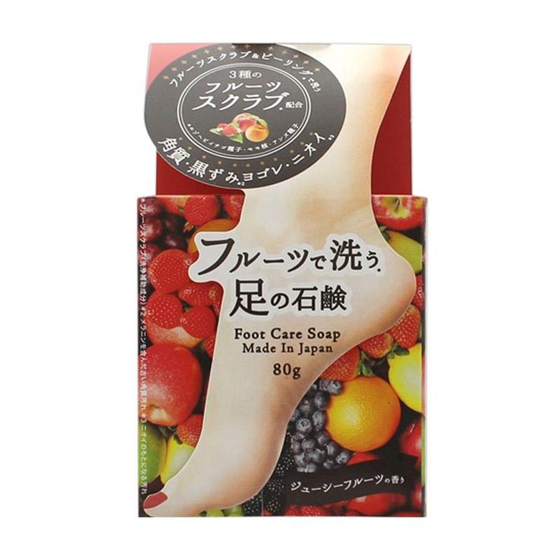 Xà Phòng Tẩy Da Chết Chân Pelican Chiết Xuất Trái Cây Fruit Foot Care Soap 80g