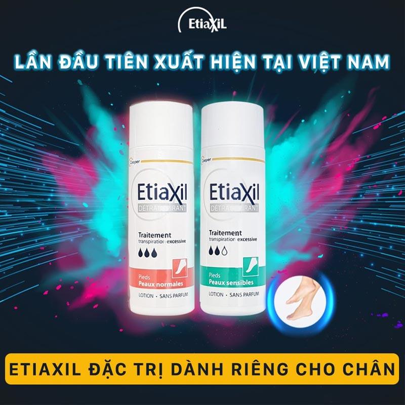 Lotion Khử Mùi, Ngăn Mồ Hôi Chân EtiaXil Detranspirant Traitement Lotion 100ml