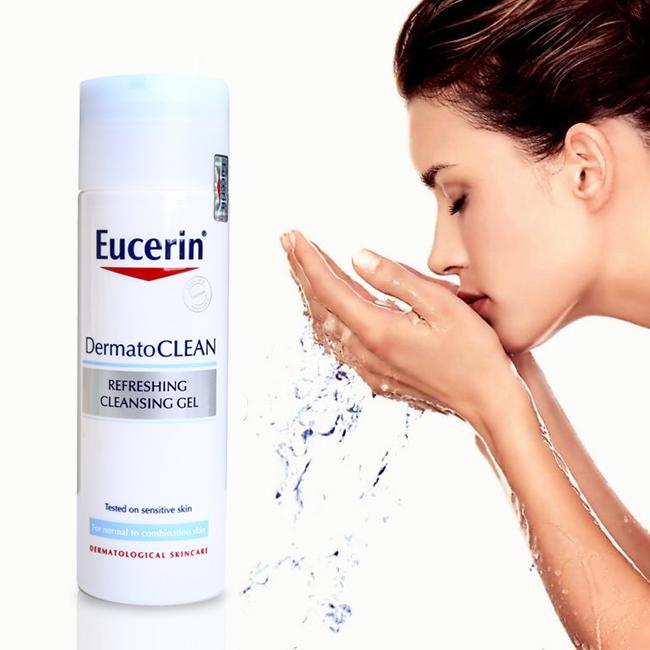 Gel Rửa Mặt Eucerin Cho Da Nhạy Cảm