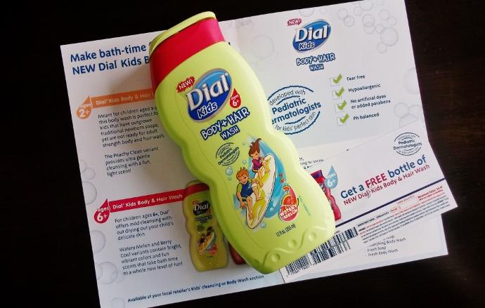 Sữa Tắm Gội Dial Kids Peachy Clean Dành Cho Bé 155ml