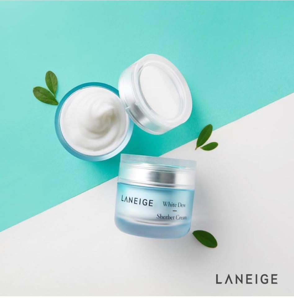 Kem Dưỡng Ẩm Laneige White Dew Sherbet Cream