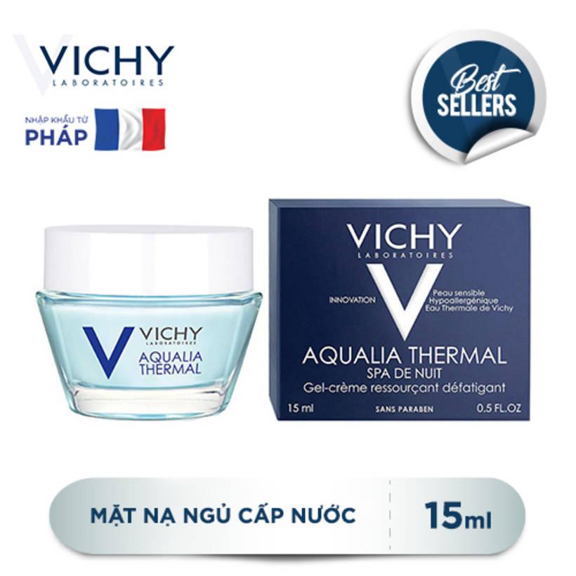 Mặt Nạ Ngủ Cấp Nước Vichy Aqualia Thermal Night Spa 15ml