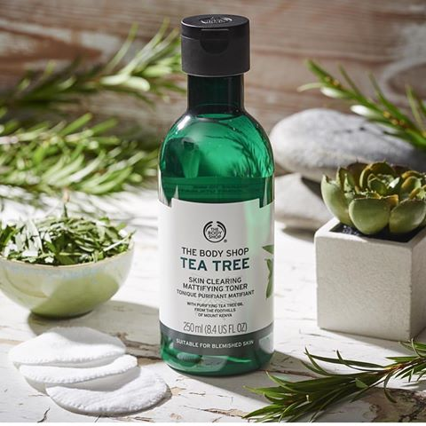 Toner cho da mụn The Body Shop Tea Tree Skin