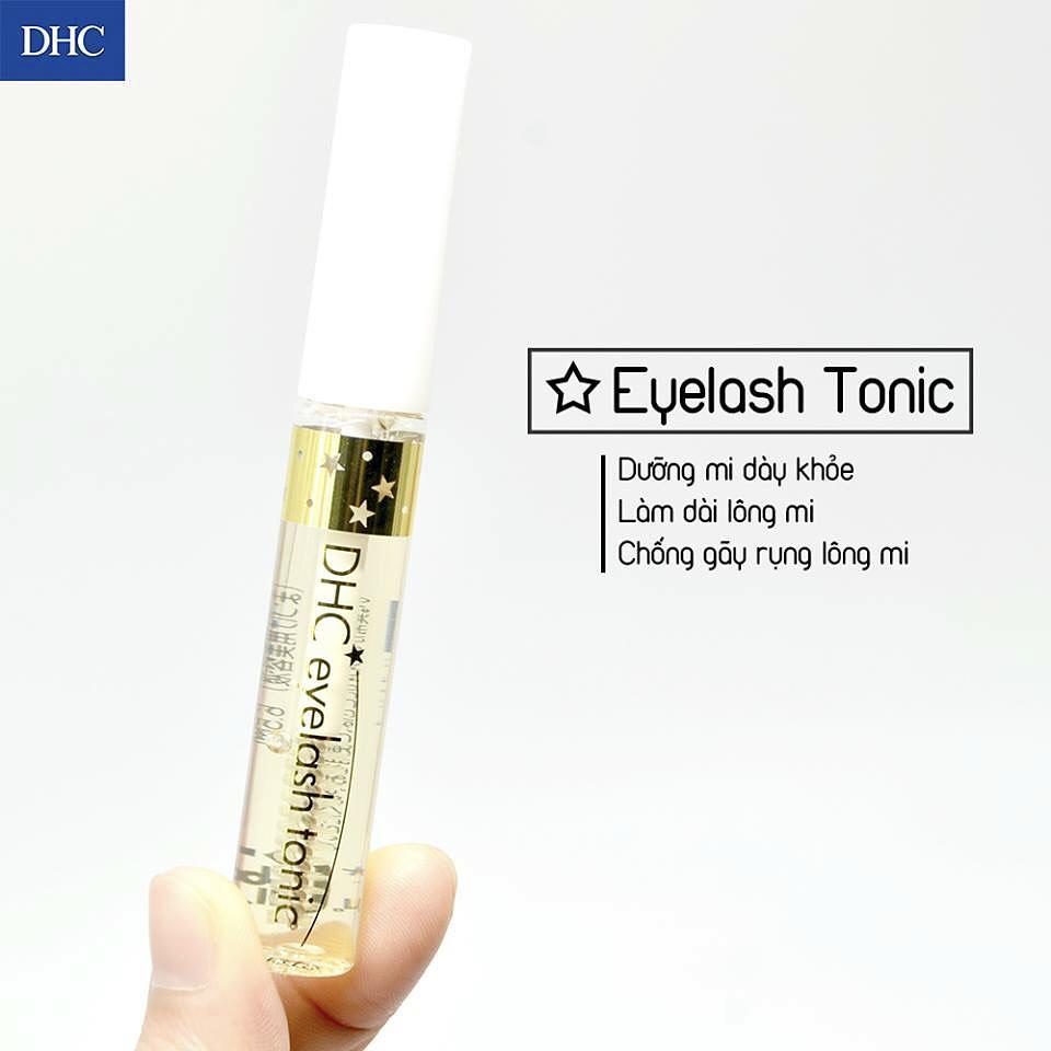 Review Serum Dưỡng Dài Mi DHC Eyelash Tonic Siêu Xịn