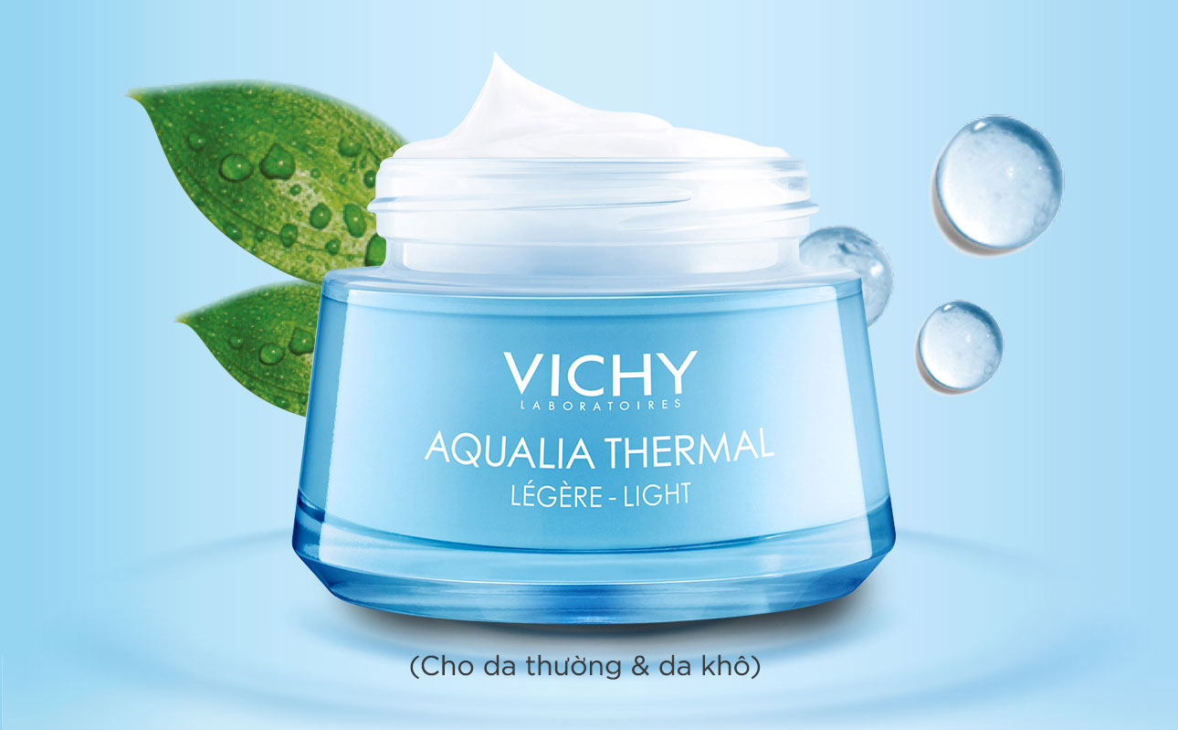 Kem dưỡng ẩm cho da khô nhạy cảm Vichy