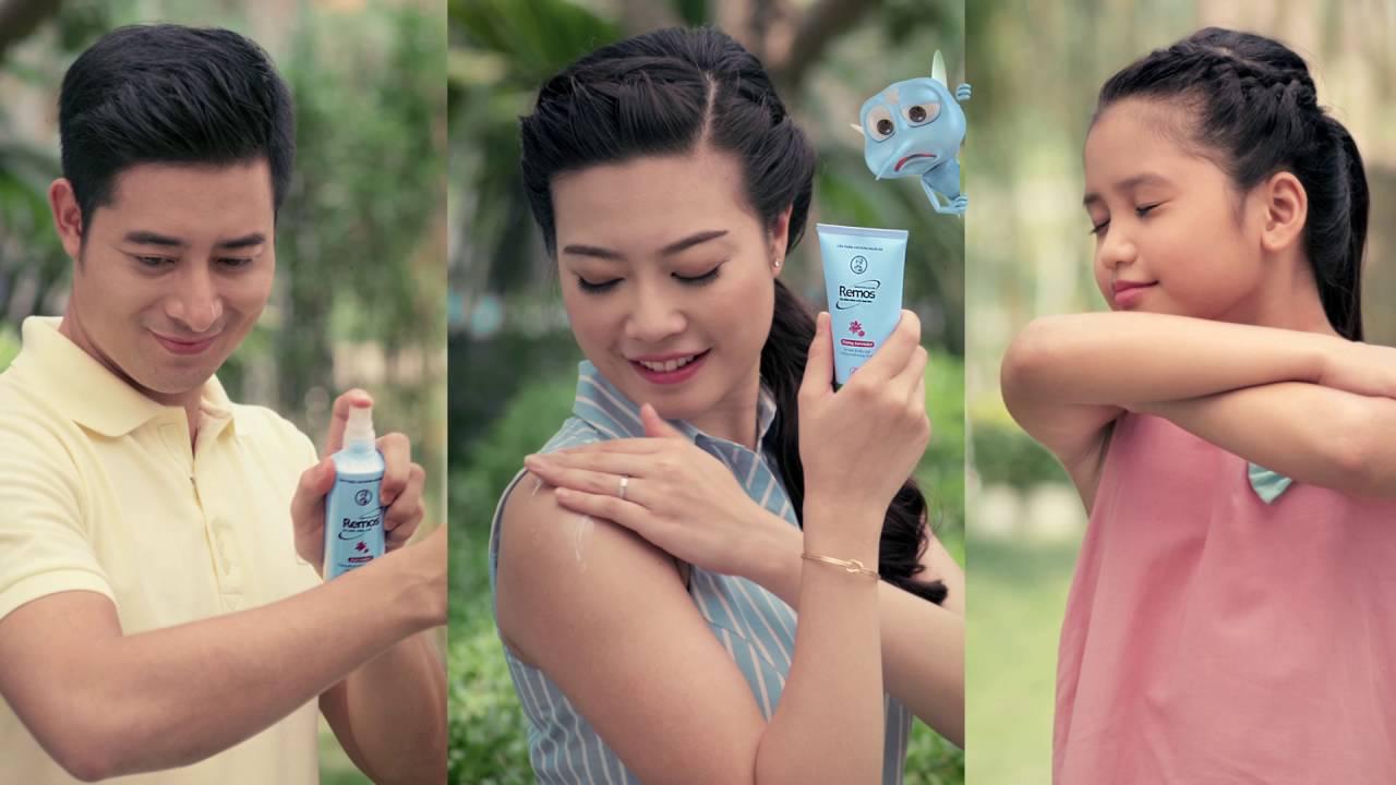 Cách sử dụng Kem chống muỗi Remos Hasaki