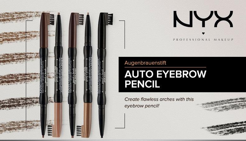 Chì kẻ mày Tự Động Auto Eyebrow Pencil NYX EP08 Black 0.25g