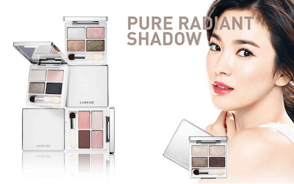 Bảng Phấn Mắt 4 Ô Laneige Pure Radiant Shadow - 03 Pink Holic