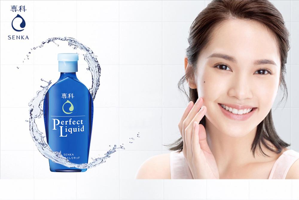 Dầu Tẩy Trang Dành Cho Da Khô Senka Perfect Liquid - 230ml