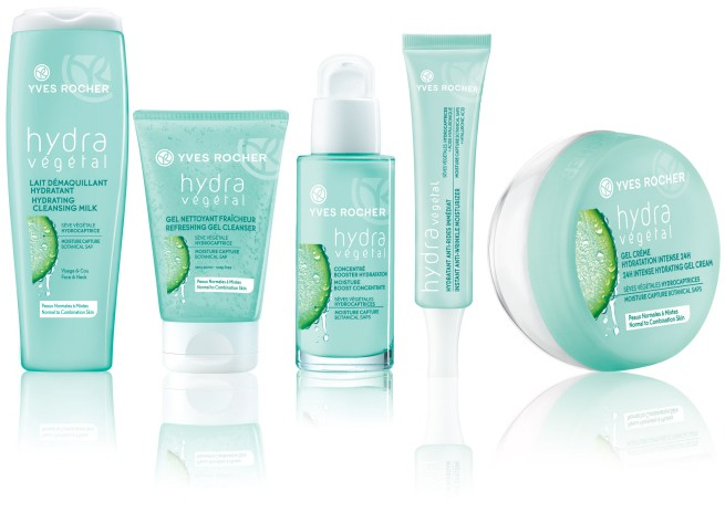 Gel Rửa Mặt Cung Cấp Nước Yves Rocher Hydra Vegetal Refreshing Gel Cleanser - 125ml