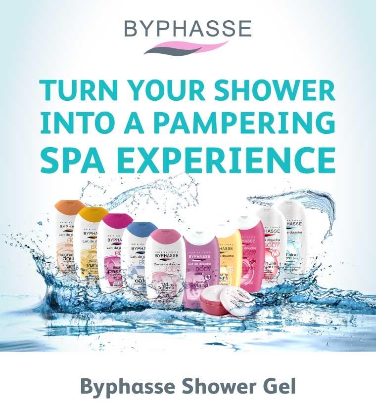 Sữa tắm dưỡng ẩm và trắng mịn Byphasse Shower Cream Unctuous 500ml