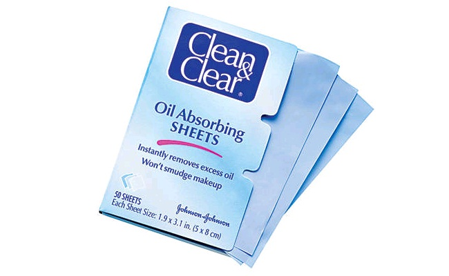 Giấy Thấm Dầu Clean & Clear Oil Absorbing Sheets