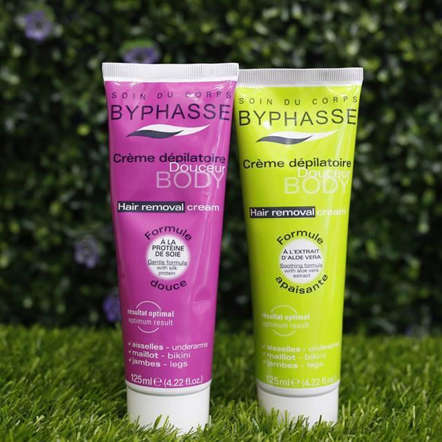 Kem Tẩy Lông Byphasse Hair Removal Cream 125ml