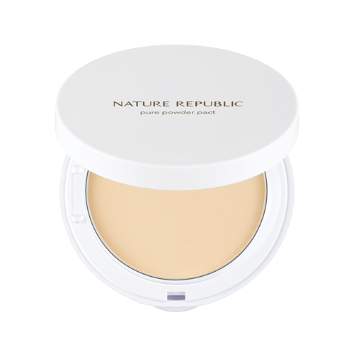 Phấn Nén Nature Republic Pure Powder Pact 01 Nude Beige 10G